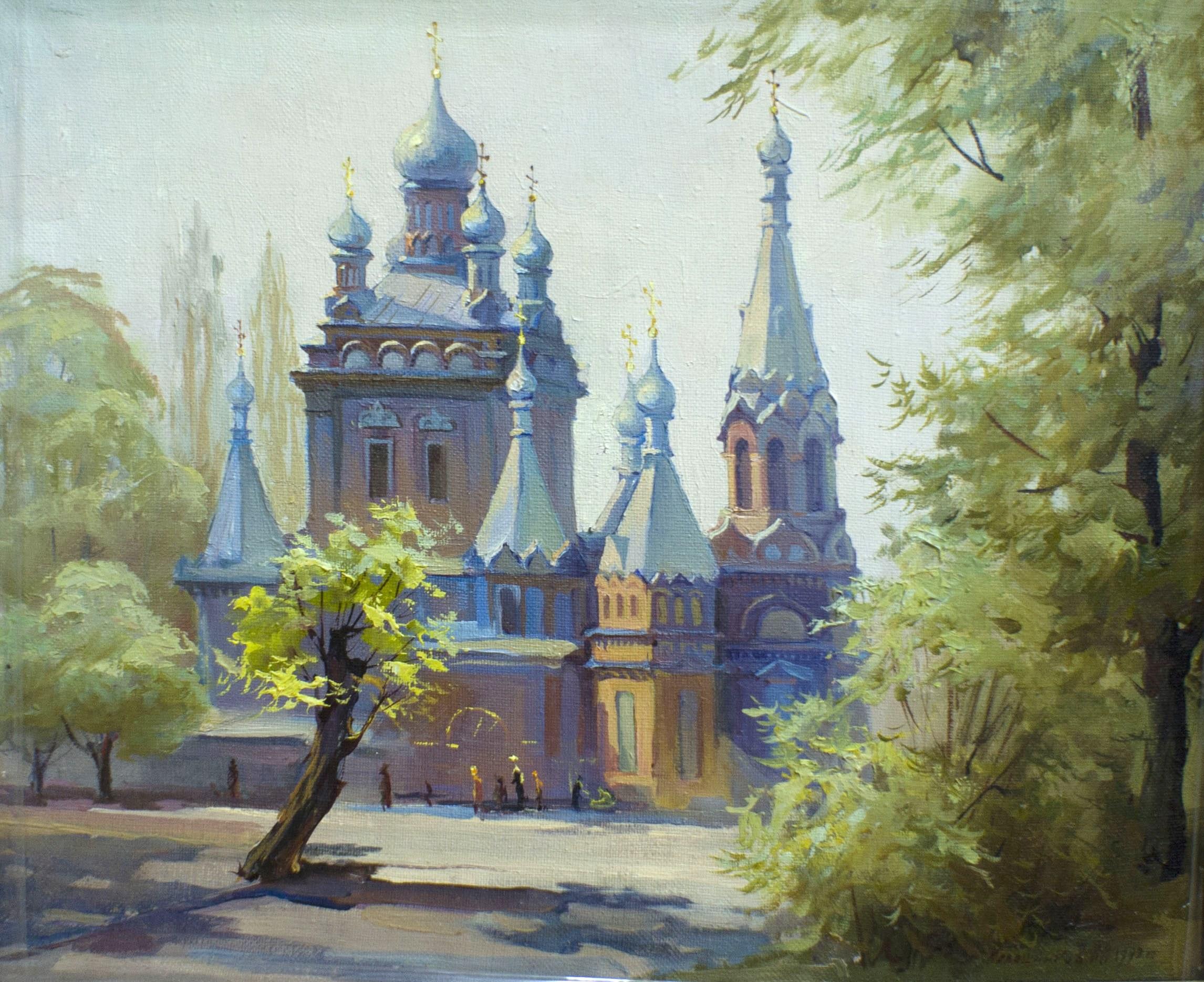 Калашников А. холст, масло