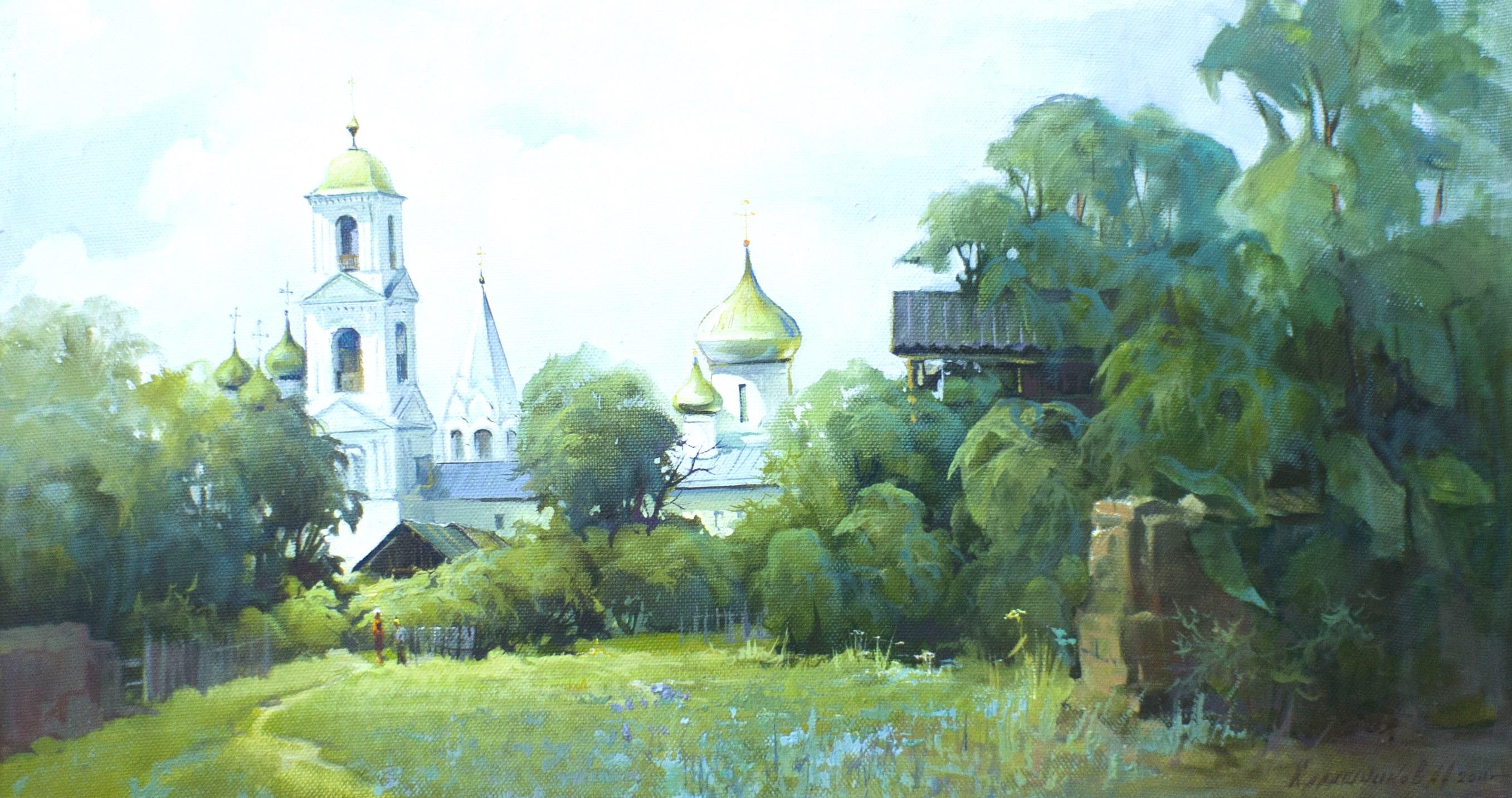Калашников, холст, масло 2011