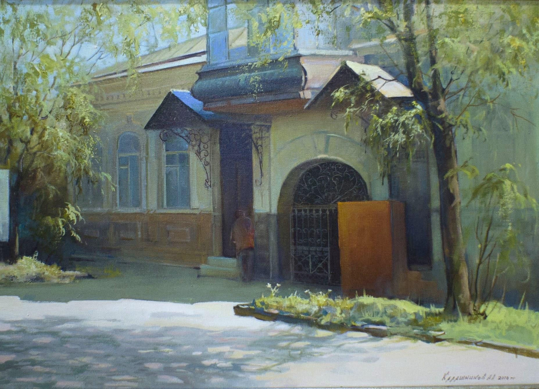 Калашников А. М. холст, масло, 2010