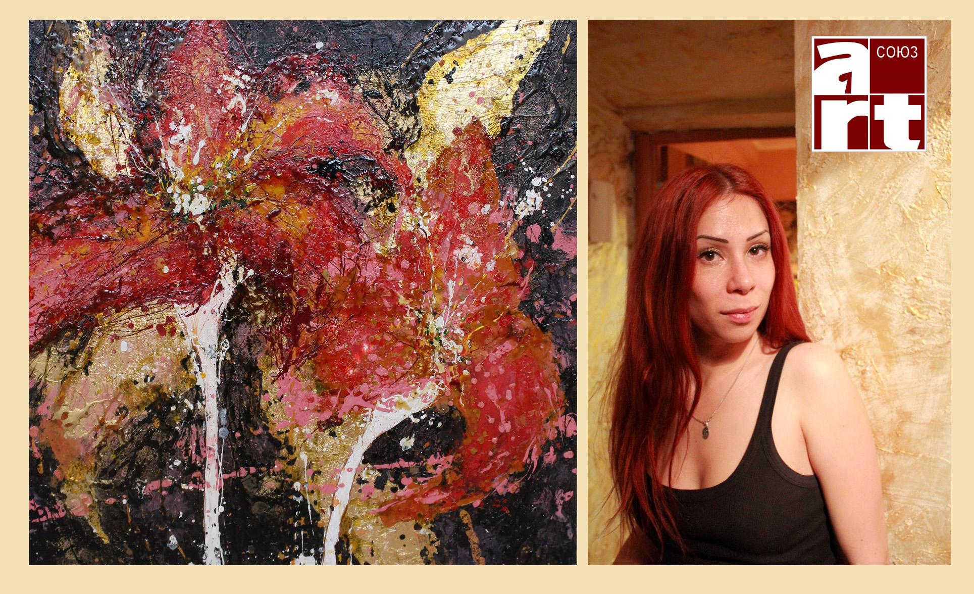 интервью с художником, Лангурова